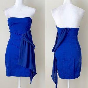 ASOS royal blue mini cocktail dress